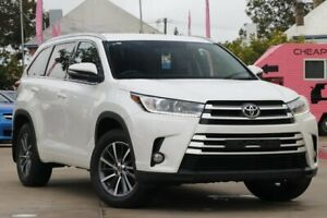 2017 Toyota Kluger GSU50R GXL 2WD White 8 Speed Sports Automatic Wagon East Toowoomba Toowoomba City Preview
