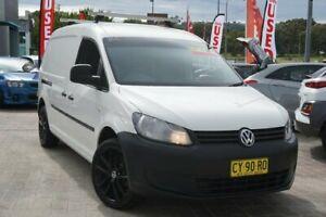 2011 Volkswagen Caddy 2KN MY11 TDI320 Maxi DSG White 6 Speed Sports Automatic Dual Clutch Van