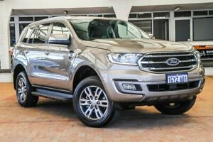 2019 Ford Everest UA II 2019.00MY Trend 4WD Silver 10 Speed Sports Automatic Wagon