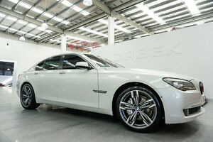 2009 BMW 730D F01 Mineral White 6 Speed Steptronic Sedan Port Melbourne Port Phillip Preview