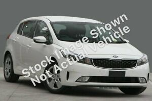 2018 Kia Cerato YD MY18 S (AV) Clear White 6 Speed Auto Seq Sportshift Hatchback Wyoming Gosford Area Preview