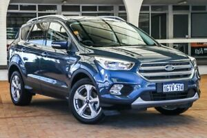 2019 Ford Escape ZG 2019.25MY Trend 2WD Blue 6 Speed Sports Automatic Wagon