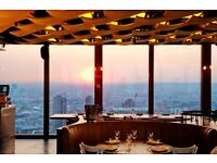 Experienced restaurant receptionist for Duck & Waffle
