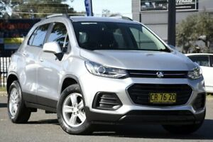 2018 Holden Trax TJ MY18 LS Silver 6 Speed Automatic Wagon Condell Park Bankstown Area Preview
