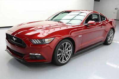 2015 FORD MUSTANG GT PREM 5.0 6-SPD CLIMATE LEATHER 14K #309917 Texas Direct