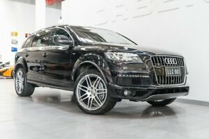 2013 Audi Q7 MY13 3.0 TDI Quattro Black 8 Speed Automatic Tiptronic Wagon Port Melbourne Port Phillip Preview