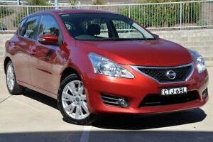 2013 Nissan Pulsar C12 ST-S Red 6 Speed Manual Hatchback Lisarow Gosford Area Preview