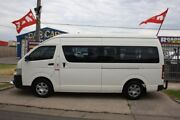 2005 Toyota Hiace KDH222R Commuter High Roof Super LWB White 4 Speed Automatic Bus Altona North Hobsons Bay Area Preview