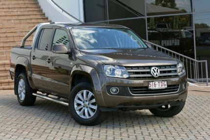 2013 Volkswagen Amarok 2H MY13 TDI400 4Mot Highline Bronze 6 Speed Manual Utility