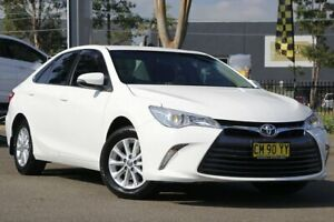 2017 Toyota Camry ASV50R Altise White 6 Speed Sports Automatic Sedan Condell Park Bankstown Area Preview