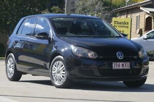 2011 Volkswagen Golf VI MY11 77TSI Black 6 Speed Manual Hatchback East Toowoomba Toowoomba City Preview