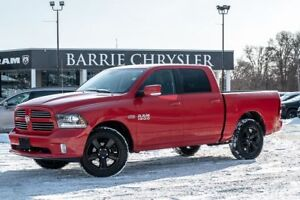 """2014 Ram 1500 Sport ***LEATHER*** 8.4 TOUCH SCREEN WITH NAV AND"""""""