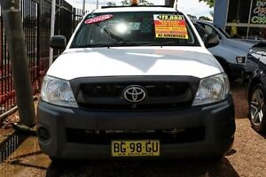 2009 Toyota Hilux TGN16R MY10 Workmate White 5 Speed Manual Utility Colyton Penrith Area Preview