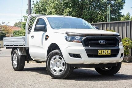 2016 Ford Ranger PX MkII XL 4x2 Hi-Rider White 6 Speed Manual Cab Chassis Greenacre Bankstown Area Preview