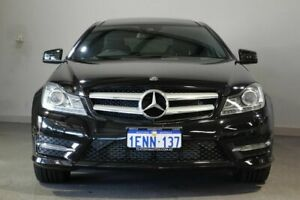 2014 Mercedes-Benz C250 C204 MY14 7G-Tronic + Black 7 Speed Sports Automatic Coupe Bayswater Bayswater Area Preview