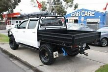 2008 Toyota Hilux KUN26R MY09 SR White 5 Speed Manual Cab Chassis Altona North Hobsons Bay Area Preview