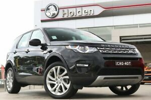 2017 Land Rover Discovery Sport L550 18MY TD4 110kW HSE Santorini Black 9 Speed Sports Automatic