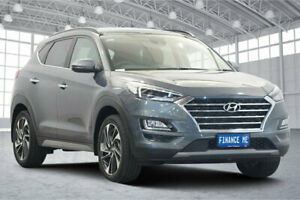 2020 Hyundai Tucson TL3 MY20 Highlander D-CT AWD Pepper Grey 7 Speed Sports Automatic Dual Clutch Victoria Park Victoria Park Area Preview