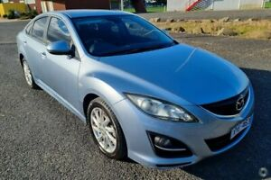 2010 Mazda 6 GH MY10 Classic Silver 5 Speed Auto Activematic Hatchback Yarram Wellington Area Preview