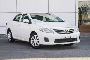 2013 Toyota Corolla ZRE152R Ascent White 4 Speed Automatic Sedan Tweed Heads South Tweed Heads Area Preview