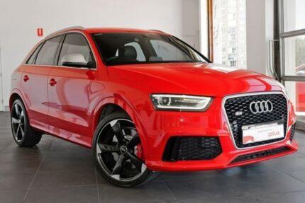 2015 Audi RS Q3 8U MY14 S tronic quattro Red 7 Speed Sports Automatic Dual Clutch Wagon