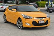 2014 Hyundai Veloster FS4 Series II + Coupe D-CT Yellow 6 Speed Sports Automatic Dual Clutch Southport Gold Coast City Preview