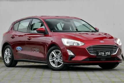 2018 Ford Focus SA 2019.25MY Trend Ruby Red 8 Speed Automatic Hatchback Dandenong Greater Dandenong Preview