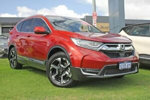 2018 Honda CR-V RW MY18 VTi-LX 4WD Red 1 Speed Constant Variable Wagon Wangara Wanneroo Area Preview