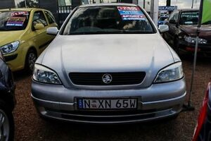 2003 Holden Astra TS 1.8L 4SPA CITY HATCH Silver Manual Hatchback Colyton Penrith Area Preview
