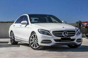 2014 Mercedes-Benz C250 W205 7G-Tronic + White 7 Speed Sports Automatic Sedan Aspley Brisbane North East Preview