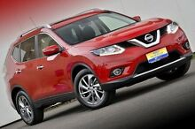 2014 Nissan X-Trail T32 Ti X-tronic 4WD Red 7 Speed Constant Variable Wagon Ferntree Gully Knox Area Preview