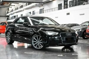 2016 Audi A3 8V Attraction Black Sports Automatic Dual Clutch Westmeadows Hume Area Preview