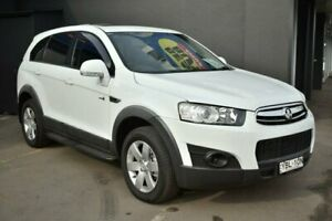 2013 Holden Captiva CG Series II MY12 7 SX White 6 Speed Sports Automatic Wagon Liverpool Liverpool Area Preview