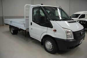 2012 Ford Transit VM LWB White 6 Speed Manual Cab Chassis Kenwick Gosnells Area Preview