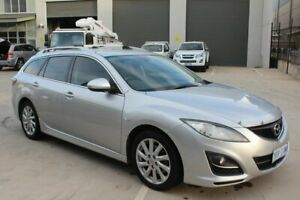 2011 Mazda 6 GH1022 MY10 Silver 6 Speed Manual Wagon Mitchell Gungahlin Area Preview