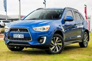 2014 Mitsubishi ASX XB MY15 LS 2WD Blue 6 Speed Constant Variable Wagon Wangara Wanneroo Area Preview