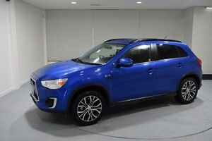 2016 Mitsubishi ASX XB MY15.5 LS 2WD Blue 6 Speed Constant Variable Wagon Invermay Launceston Area Preview