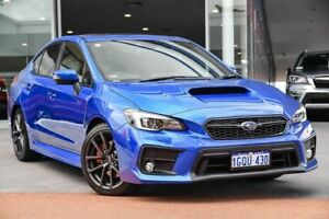 2018 Subaru WRX V1 MY19 Premium Lineartronic AWD WR Blue 8 Speed Constant Variable Sedan Wangara Wanneroo Area Preview