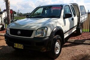 2004 Holden Rodeo RA LX Space Cab White 4 Speed Automatic Utility Minchinbury Blacktown Area Preview