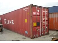 40ft Large Container or 2x 20 Ft