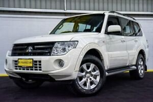 2014 Mitsubishi Pajero NW MY14 GLX-R White 5 Speed Sports Automatic Wagon Canning Vale Canning Area Preview