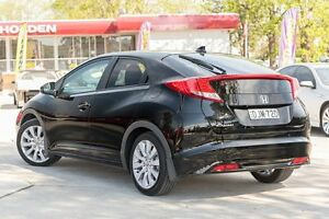 2013 Honda Civic 9th Gen MY13 VTi-LN Black 5 Speed Sports Automatic Hatchback Penrith Penrith Area Preview