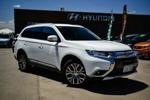 2015 Mitsubishi Outlander ZK MY16 LS 2WD White 6 Speed Constant Variable Wagon Midvale Mundaring Area Preview