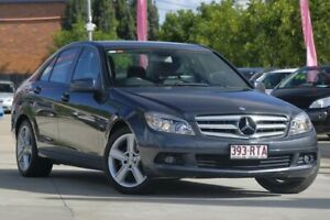 2010 Mercedes-Benz C200 CDI W204 MY10 Classic Grey 5 Speed Automatic Sedan East Toowoomba Toowoomba City Preview