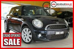 2007 Mini Hatch S R53 Cooper S Hatchback 3dr Man 6sp 1.6SC [MY05] Black Manual Hatchback Minchinbury Blacktown Area Preview