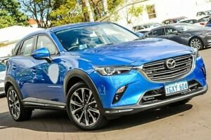 2019 Mazda CX-3 DK4WSA sTouring SKYACTIV-Drive i-ACTIV AWD Blue 6 Speed Sports Automatic Wagon Bayswater Bayswater Area Preview
