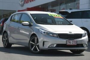 2017 Kia Cerato YD MY18 Sport Silver 6 Speed Sports Automatic Hatchback Woolloongabba Brisbane South West Preview
