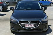 2015 Mazda 2 DJ2HAA Maxx SKYACTIV-Drive Black 6 Speed Sports Automatic Hatchback Southport Gold Coast City Preview
