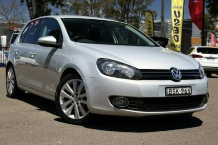 2010 Volkswagen Golf VI MY10 118TSI DSG Comfortline Silver 7 Speed Sports Automatic Dual Clutch Condell Park Bankstown Area Preview