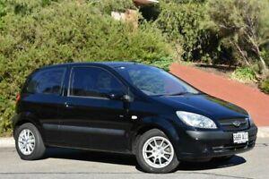 2010 Hyundai Getz TB MY09 S Black 4 Speed Automatic Hatchback St Marys Mitcham Area Preview
